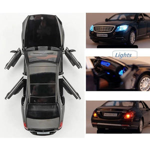 Mercedes-Benz Maybach S600 Model Cars | 1:24 Scale 4 Colors