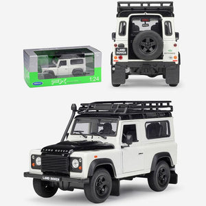 Land Rover Defender Model Cars | 1:24 Scale 3 Colors