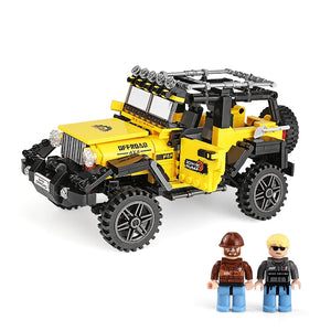 Jeep Offroad Building Blocks Model Cars