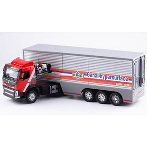 Volvo Shipping Container Truck Model