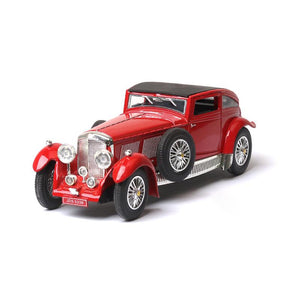 1/28 Scale Classic Model Cars | 1930 Bentley 8 Litre Diecast Car