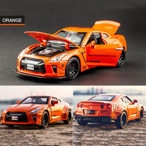Nissan GTR-R35 Alloy Die Casting Car Model | Kamory-us