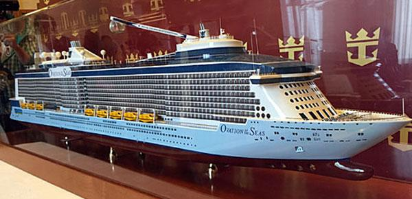 (limited edition)Ocean Zanli cruise ship model