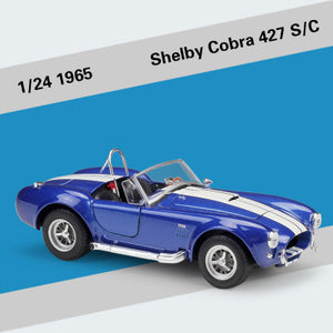 Ford 1965 Shelby Cobra 427 Model Cars | 1:24 Scale 3 Color