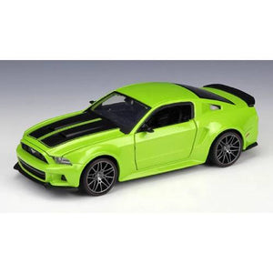 Ford 2014 Mustang Street Racer Model Cars | 1:24 Scale 2 Colors