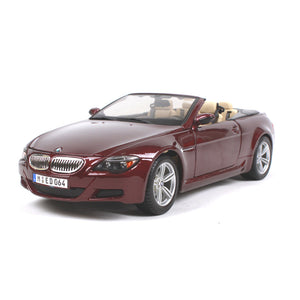 BMW M6 Convertible Diecast Car Model