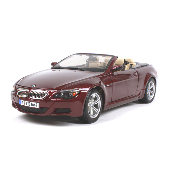 BMW M6 Convertible Model Cars | 1:18 & 1:24 Scale 3 Colors