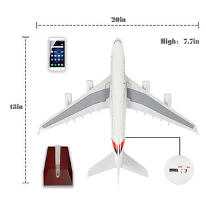 Airbus A380 Diecast Model Airplane | Emirates Airlines