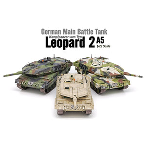 Leopard 2 A7 Tank Diecast 1:72 Scale
