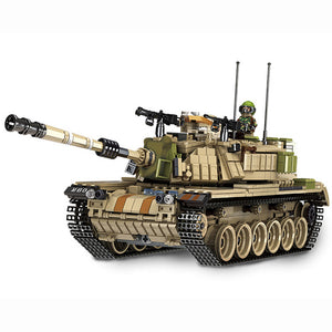 Magach tank building block