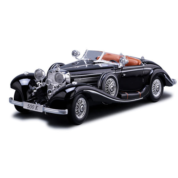 Holiday Sale--Mercedes-Benz 1936 500k Model Cars | 1:18 Scale 5 Colors
