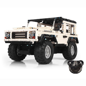 Block Remote Control Cars | Land Rover Defender Building | Kamory-us