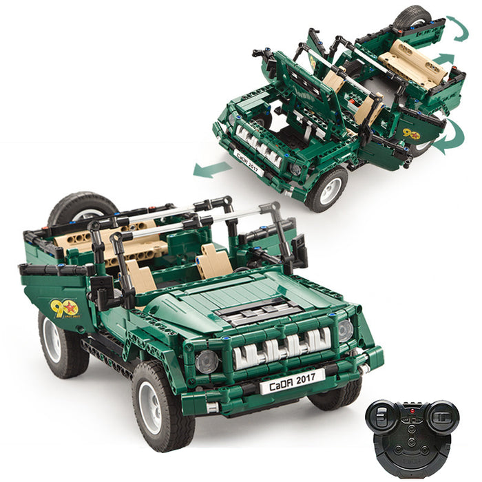 Radio Controlled Cars | Military Parade Vehicle Building Block