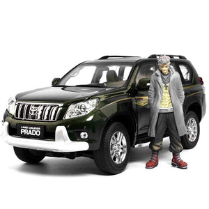 Toyota Prado SUV Model Cars | 1:18 Scale 2 Colors