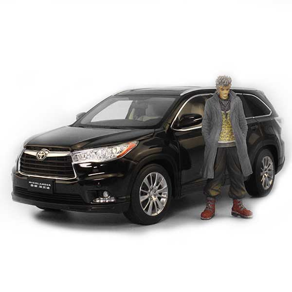 Toyota Highlander SUV Model Cars | 1:32 / 1:18 Scale 3 Colors