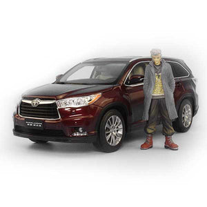 Toyota Highlander SUV Model Cars | 1:18 Scale 3 Colors