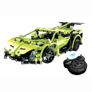 Lamborghini Poison Building Block Remote Control Car | Kamory-us