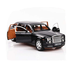 Kamory | Diecast 1:24 Scale Model Car | Rolls-Royce Phantom Pull Back Toy Car