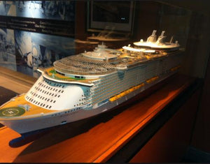 Royal Caribbean Cruise Ocean Charm Model