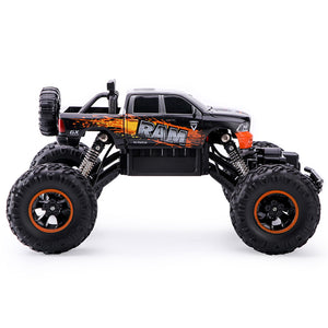 Remote Control Cars | Four-Wheel Drive Big Wheel Car