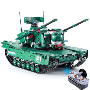 Building Block Remote Control Tank | 2 in 1 Military Tank | Kamory-us