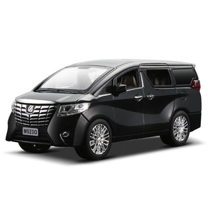 Toyota Alphard Commercial Vehicle Alloy Die Casting Car Model