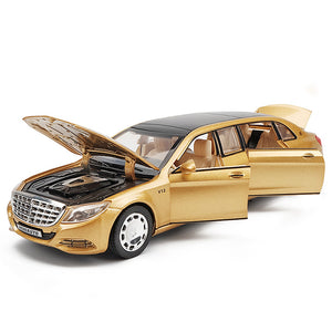 Mercedes-Benz Maybach S650 Model Cars | 1/32 Scale 4 Colors