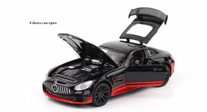 Mercedes-Benz AMG GTR Model Cars | 1/32 Scale 4 Colors