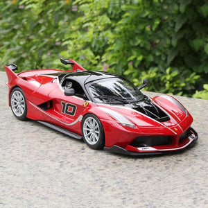 Kamory | Ferrari FXX-K Track Version Diecast 1:24 Scale Model Car