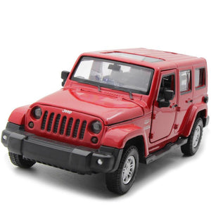 Kamory Scale Model Cars | Jeep Wrangler 4-Door