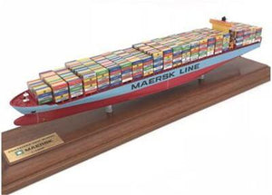 1: 1000 Scale Exquisite Container Freighter Model Ship | Kamory-us