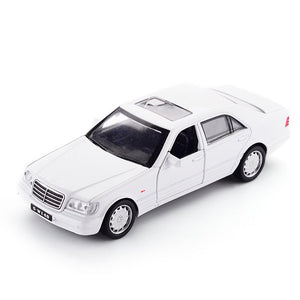 Mercedes-Benz S1993 W140 Model Cars | 1:32 Scale 4 Colors