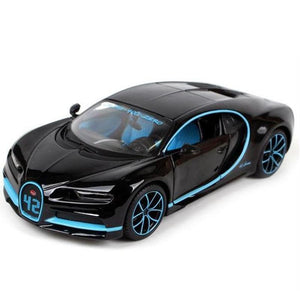 Kamory Scale Model Car | 1:24 Bugatti Chiron 42 Commemorative