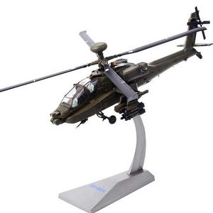Kamory Milltary Model | Apache AH-64 Armed Helicopter 1:72 Scale Model