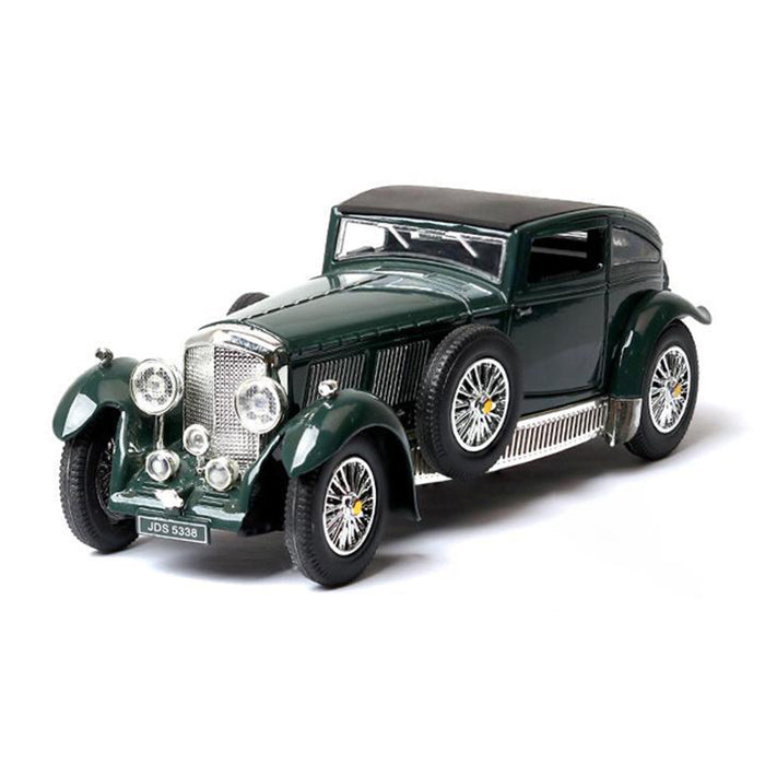 Bentley 8 Liters 1930 Model Cars | 1:28 Scale 4 Colors