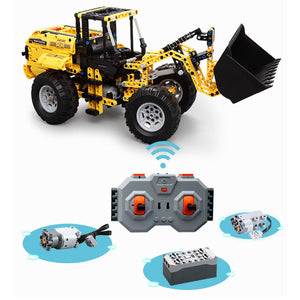 Building Block Toy For Kids | Remote Control Bulldozer | Kamory-us