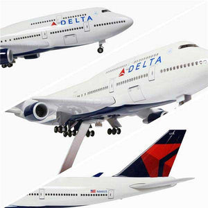 Kamory | Boeing 747 Model Airplanes | Delta Airlines