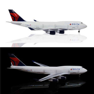 Kamory | Boeing 747 Model Airplanes | Delta Airlines Upgrade with LED