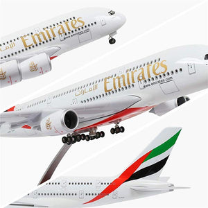 Kamory Model Airplanes | Emirates A380 Scale Airplane Model