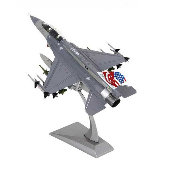 1:72 USA F-16 Fighting Falcon Scale Diecast Jet Model