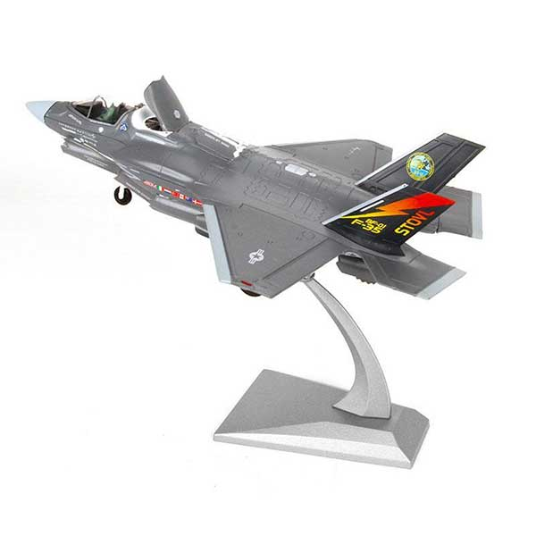 1:72 Diecast Model Fighter Plane | USA F-35B Lightning II Scale Model