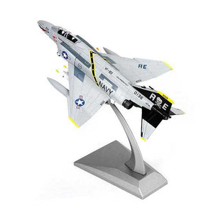 1:100 USA F-4C Phantom Fighter Scale Model