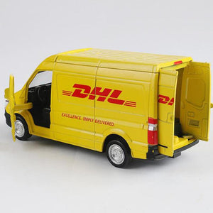 Mercedes-Benz DHL Truck Model Cars | 1:32 Scale 1 Color