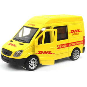 Die Casting Model Cars For Mercedes Benz DHL Truck