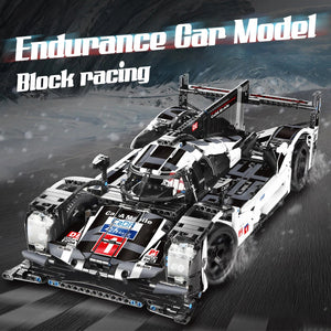 Porsche Racing 911 Model Cars | Buliding Blocks