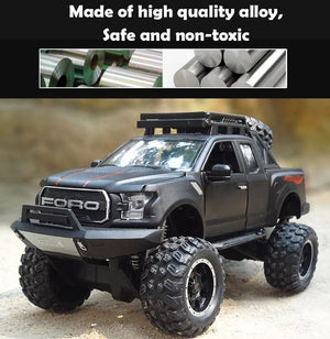Kamory Model Car | Ford Raptor F150 Grande Road Diecast Pickup Model
