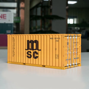 (Collection)Shipping company container model