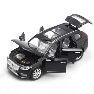 Volvo Toy Model Cars | XC90 Diecast Pull Back With Light & Sound