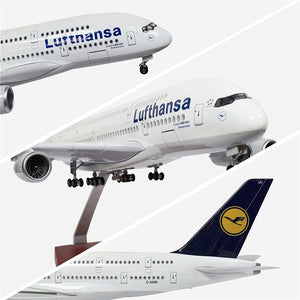 Airbus A380 Model Airplane | Lufthansa Airlines | Kamory