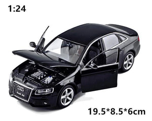 Kamory | Audi A4 Model Car | Diecast 1:24 Scale Model Car